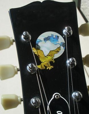 Jerry Garcia's Eagle-Earth Grateful Dead Inlay Stickers Decals Guitar Headstock