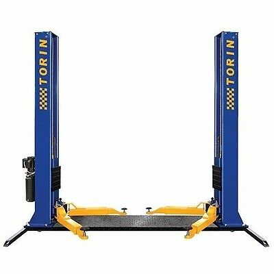 CAR HOIST 4 Ton Two Post Lift Hoist With 3 Stage Arms Car Workshop Home NEW