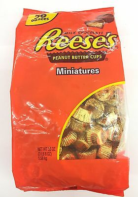 Reese's Miniatures Milk Chocolate Peanut Butter Cups 1.58kg Bag