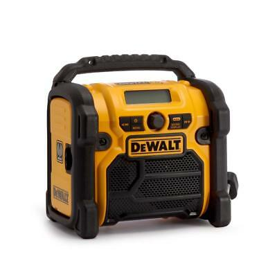 DeWalt Reconditioned DCR020 Compact XR Li-Ion DAB Digital Site Radio