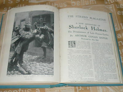 Sherlock Holmes 1St Edition. The Disappearance Of Lady Frances Carfax. Vol Xlii