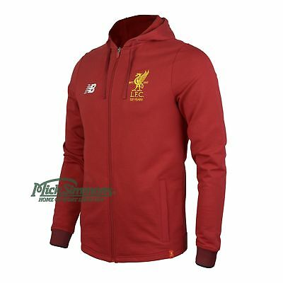 NEW Liverpool FC 2017/18 Travel Hoody by New Balance
