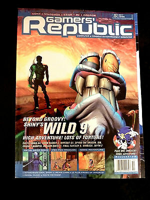 Gamers' Republic Magazine Issue  5 - October 1998