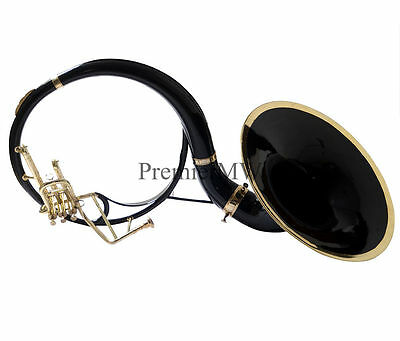 """PremierMW Sousaphone 22"""" Bell Black Color With Free Carry Bag + MouthPiece"""