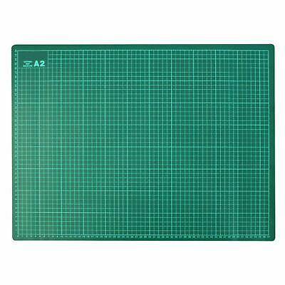 New A2 Cutting Mat 450x600mm 3mm Thick with 1cm Square Grid For Craft & Art
