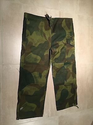 "camouflage pant,belgian congo,1956, noS,45-48"" waist adjustable x29""inseam""A"""