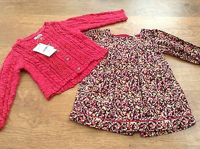 Ted Baker  Next Girls Small Bundle / Outfit 12-18Mths Dress Cardigan