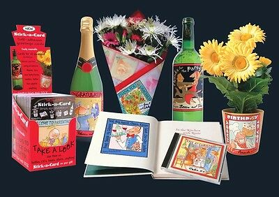 Unique Greetings Card Stock & Business Including 130,000 Cards,