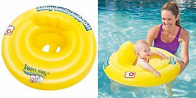 Bestway Swim Safe Baby Seat (STEP A) Infant Learn Nappy Style Water Pool Seat