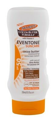 Palmer`s Eventone Suncare SPF 50 Lotion With Cocoa Butter 250ml