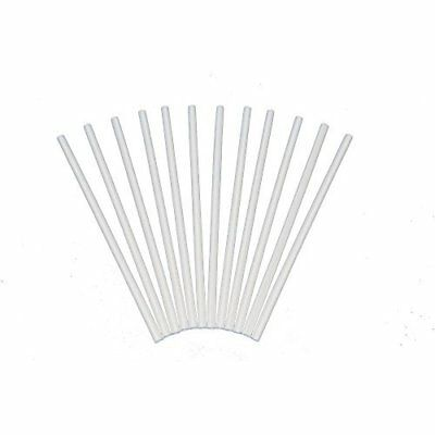 Plastic White Dowel Rods for Tiered Cake Construction, 12 Inch X 1/4, Pack
