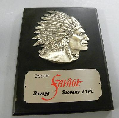 Savage Dealer Plaque  12x9