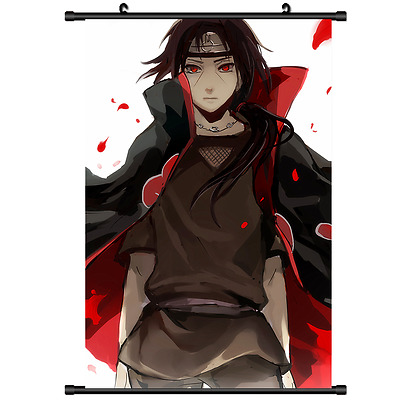 Anime Naruto Uchiha Itachi home decor Wall Scroll Poster cosplay 2721