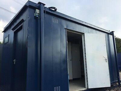 16ft x 9ft 3+1 Site Toilet / Anti Vandal / Portable Building / Toilet Block