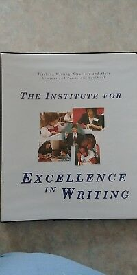 institute excellence writing Writing has always been a struggle for my oldest it's a combination of struggling with the effects of dyslexia and -- okay, here's the hard part -- struggling with a perfectionist mom who loves to write now, don't get me wrong i try really hard not to completely tear apart brianna's writing, but i will admit to having high standards and having trouble finding a.