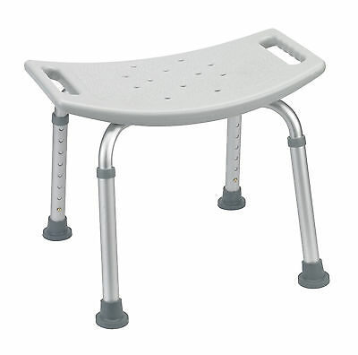 MDS Medical Bath Bench Bath Shower Seat - Grey or White Capacity Capacity 400l
