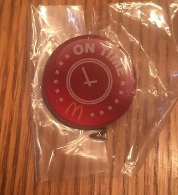 McDonald's lapel - On Time