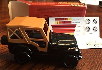 Avon Vintage Jeep Renegade Decanter SURE WINNER BRACING LOTION NEW IN BOX