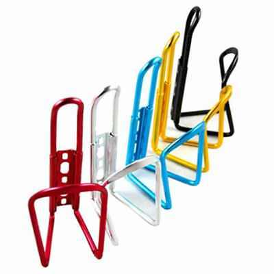 2 x Aluminium Water Bottle Cage HOLDER BRACKET For Cycling Bicycle Bike Drink
