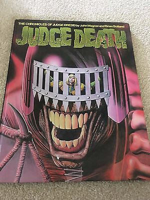 The Chronicles of Judge Dredd - Judge Death (Hardcover 1983) 2000 AD