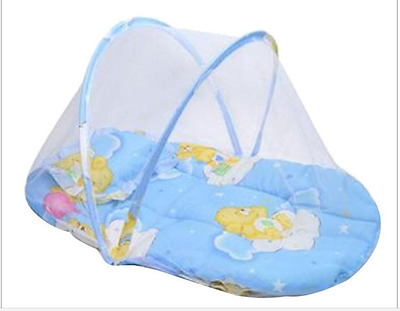 Baby Bed mosquito Cushion Portable Folding Crib Mattress Child