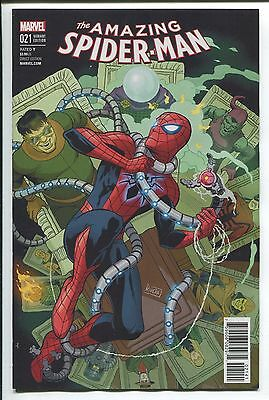 Amazing Spider-Man #21 Paolo Rivera Variant Cover - Marvel Comics - 1/25