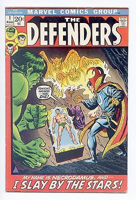 The Defenders #1 (Aug 1972, Marvel) 7.0 FN/VF Please see scans and desc.