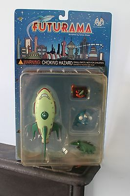 Futurama Planet Express Ship - Moore Action Collectibles - RARE