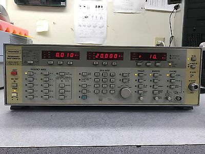 Wiltron 6647B Programmable Sweep Generator 10MHz-20GHz Opt 03