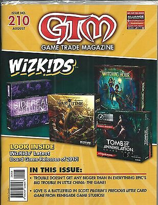 Game Trade Magazine #210 (WIZKIDDS, Scott Pilgrim, Sealed AUG 2017) NM NEW