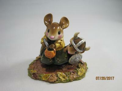 Wee Forest Folk M-443 Eric the Reticent - WFF New in Box