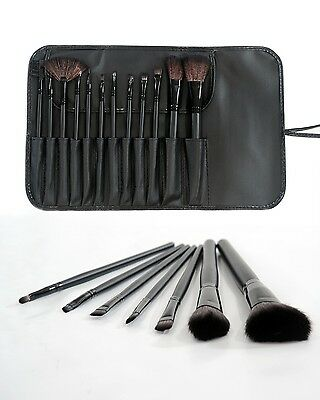 12PCS Kabuki Style Professional Foundation Blusher Face Powder Make up Brush Set