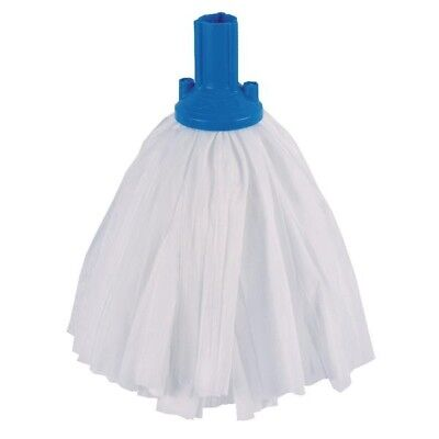 Contico Standard Big White Exel Mop Blue Pack of 10 PSBU1210P