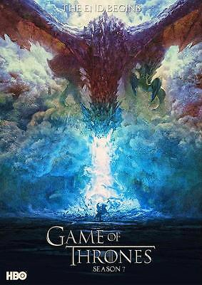 GAME OF THRONES POSTER Daenarys Mother of Dragons Season 7 Photo Poster A4 A3
