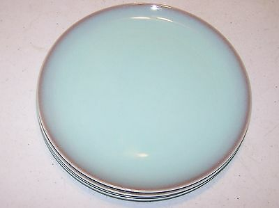 Taylor, Smith & Taylor Turquoise Plates - Set of 4