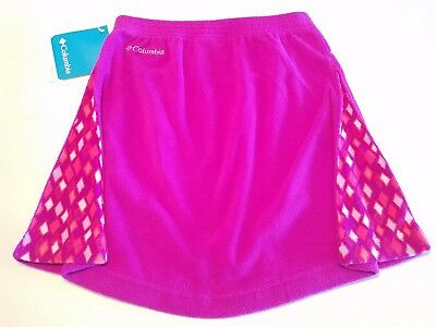 Columbia Girls' Glacial Fleece Skirt - Bright Purple  - Youth Large $36 NWT