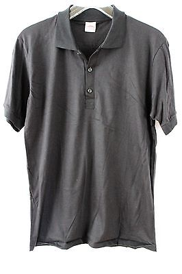 Tee Haus Youth Kids Boys Girls Large Casual Polo Shirt Black