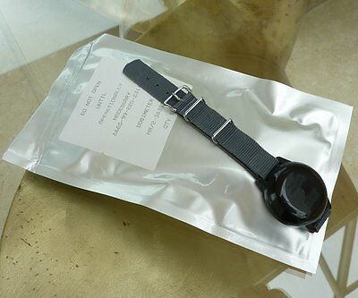 Ex MOD CWC G10 Style Watch Straps New Sealed With Military Radiation Dosimeter