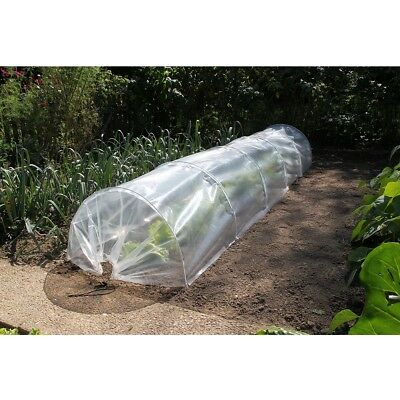 S#Nature Garden Tunnel Set 6030204 Polyethylene 6 Hoops and One Insect Screen