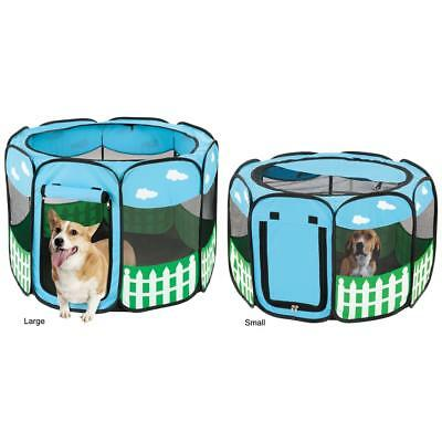 Pet Dog Cat Tent Playpen Exercise Play Pen Soft Crate Kennel Small Medium Large