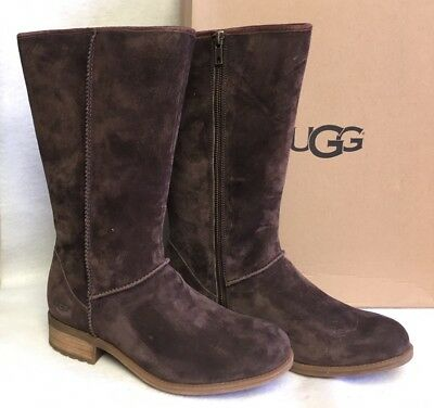 UGG Australia Linford Suede Women's Boots Demitasse Shearling Suede 1012554