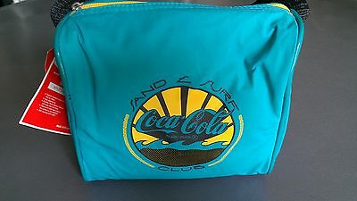 "COCA COLA SAND & SURF CLUB -Insulated ""Munch Satchel""- NEW NWT Authorized"