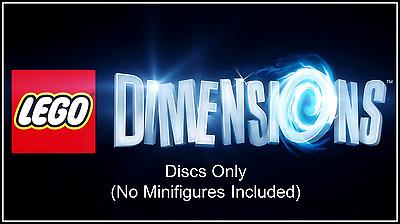 LEGO Dimensions Disc Base Minifig Mini Fig - Pick the ones you WANT!