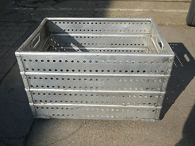 Zarges Transport Box Aluminum Chest/Aluminum Box, Storage Good Condition