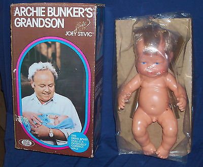 NEW UNUSED Archie Bunker Grandson JOEY STIVIC Doll Ideal 1976 ALL IN THE FAMILY
