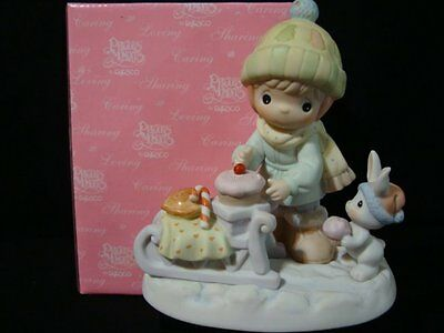 zv Precious Moments-Very Rare Kirlin's Early Release Limited Edition Fig.