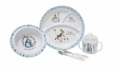 Beatrix Potter 5 Piece Melamine Set