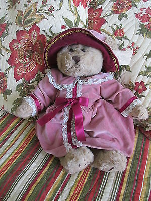 """Russ Fully Jointed Emily """"bears From The Past"""" Victorian Dressed~Nwt~16"""" Long"""