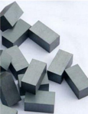 20 Ceramic Block Magnets 12mm x 9mm x 7mm Reed Switch Operating Magnets Mini