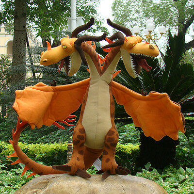 How To Train Your Dragon 2 Plush Toy Zippleback Monstrous Nightmare Cool Doll